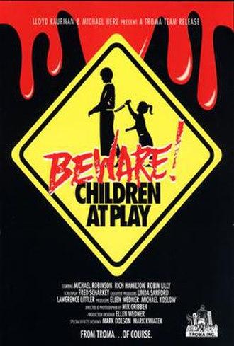 Beware! Children at Play - Image: BEWARE CHILDREN AT PLAY poster