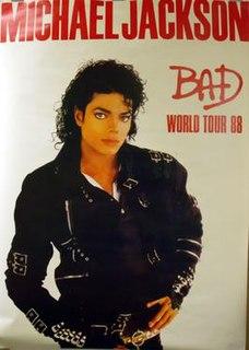 Bad (tour) concert by recording artist Michael Jackson