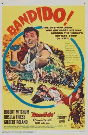 Bandido (1956 film) - Film poster