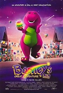<i>Barneys Great Adventure</i> 1998 American film directed by Steve Gomer