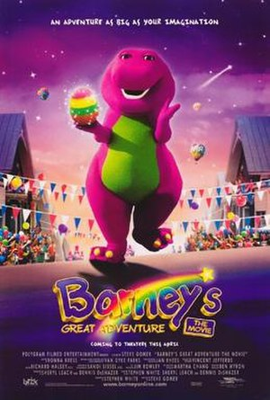Barney's Great Adventure - Theatrical release poster