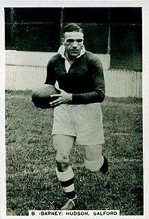 Barney Hudson GB & England international rugby league footballer