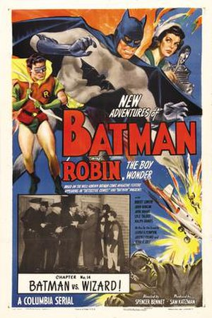 Batman and Robin (serial) - Image: Batman and Robin 1949 poster