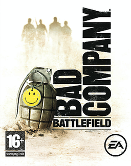 Battlefield: Bad Company cover (Xbox 360)