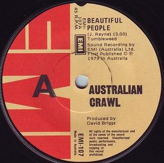 Beautiful People (Australian Crawl song) - Image: Beautiful People AC
