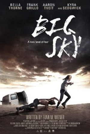 Big Sky (film) - Theatrical release poster