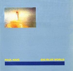 "Big Blue World - Big Blue World, Belgian 12"" single sleeve"