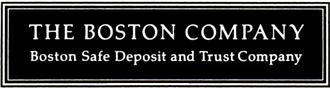 Mellon Financial - The Boston Company logo, ca 1993, acquired by Mellon