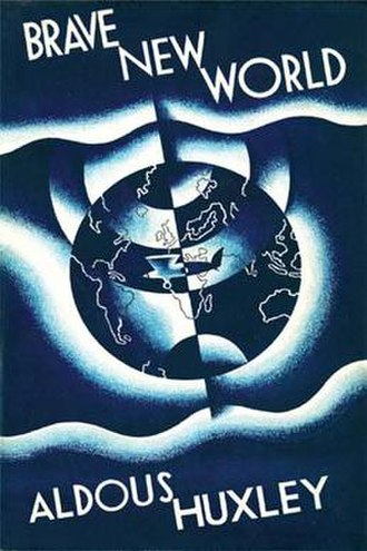 Brave New World - First edition cover