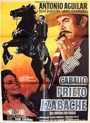 Caballo prieto azabache (film) - Image: Caballo prieto azabache movie poster
