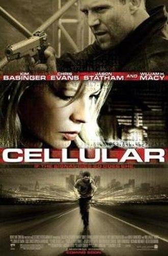 Cellular (film) - Theatrical film poster