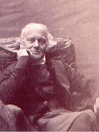 Charles Longley - A photograph of Charles Thomas Longley by Charles Dodgson (Lewis Carroll).