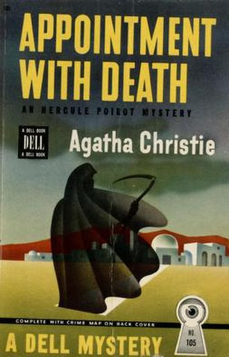 Appointment with Death - Dell Mapback No. 105, first US paperback edition, 1946