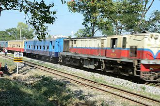 Taungoo - Yangon-Taungoo-Mandalay railway