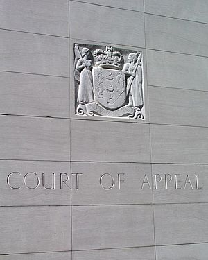 Court of Appeal of New Zealand - New Zealand Court of Appeal in Wellington
