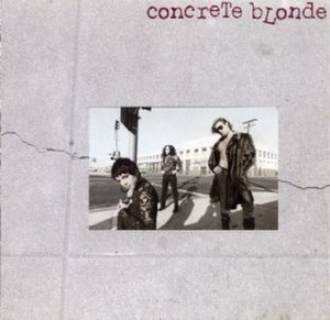 Concrete Blonde (album) - Image: Concrete Blonde Concrete Blonde Front