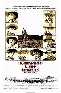 <i>The Cowboys</i> 1972 film by Mark Rydell