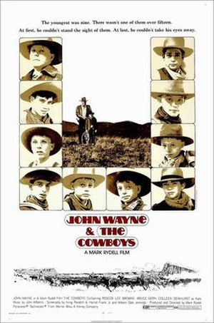 The Cowboys - Film poster