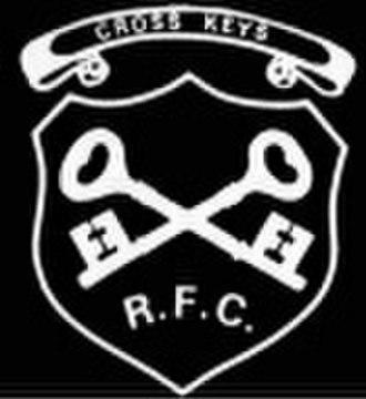 Cross Keys RFC - Image: Crosskeys RFC logo
