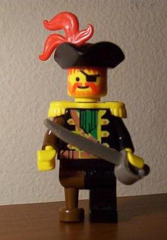 Lego Pirates - Custom LEGO Pirate