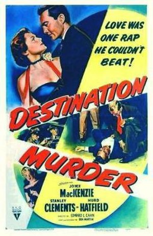 Destination Murder - Theatrical release poster