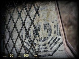 Dharma Initiative - A Dharma-related Easter Egg in Half-Life 2: Episode 2.