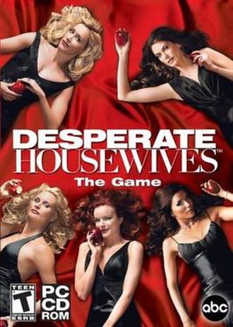 Desperate Housewives: The Game (2006 video game) - Image: Dhw game
