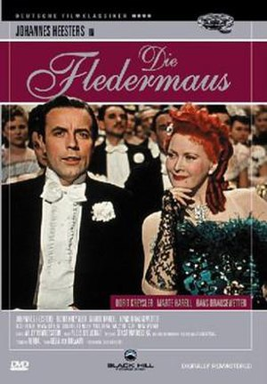 Die Fledermaus (1946 film) - DVD cover