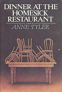 <i>Dinner at the Homesick Restaurant</i> Novel by Anne Tyler