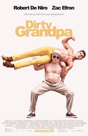 Dirty Grandpa - Theatrical release poster