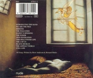 "Dog Man Star - The back cover of the album featuring the photograph ""Lost Dreams""."