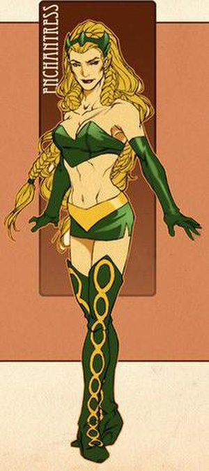 Enchantress (Marvel Comics) - Image: Enchantress II