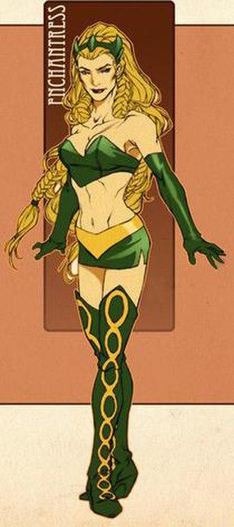 Enchantress (Marvel Comics) - Image: Enchantress II