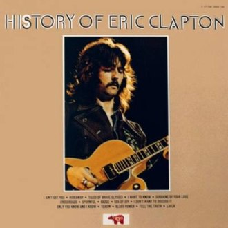 The History of Eric Clapton - Image: Eric Clapton Album Cover History of EC
