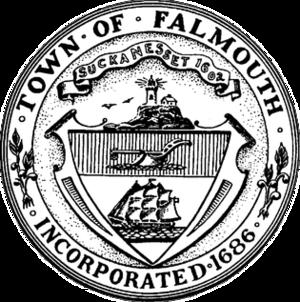 Falmouth, Massachusetts - Image: Falmouth MA seal