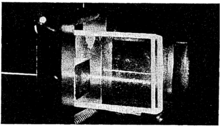 Prism Coupler with light scattered from a guided wave, and reflection from the bottom of the substrate