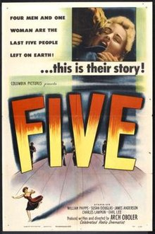 Theatrical release poster for Five