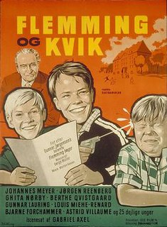 <i>Flemming og Kvik</i> 1960 film by Gabriel Axel