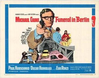 Funeral in Berlin (film) - UK theatrical release poster