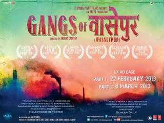 <i>Gangs of Wasseypur</i> Two-part film series directed by Anurag Kashyap