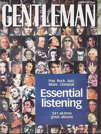 Gentleman (magazine) - Cover dated October 1999. Essential Listening -A Collector's issue.