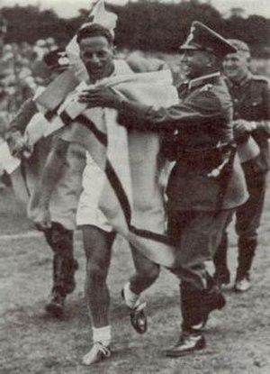 Gotthard Handrick - Gotthard Handrick at the 1936 Olympic Games