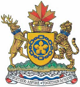 Coat of arms of Hamilton