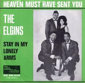 Heaven Must Have Sent You - Image: Heaven Must Have Sent You The Elgins
