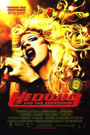Hedwig and the Angry Inch (film) - Theatrical release poster