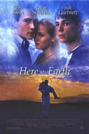 Here on Earth (film) - Theatrical release poster