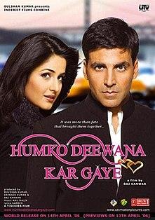 <i>Humko Deewana Kar Gaye</i> 2006 Indian film directed by Raj Kanwar