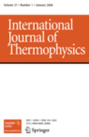 International Journal of Thermophysics - Image: IJTPH cover