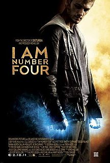 <i>I Am Number Four</i> (film) 2011 film by D. J. Caruso