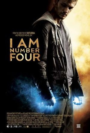 I Am Number Four (film) - Theatrical release poster